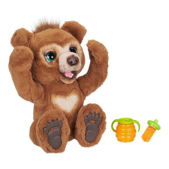 Furreal Cubby The Curious Bear Interactive Plush Toy Top