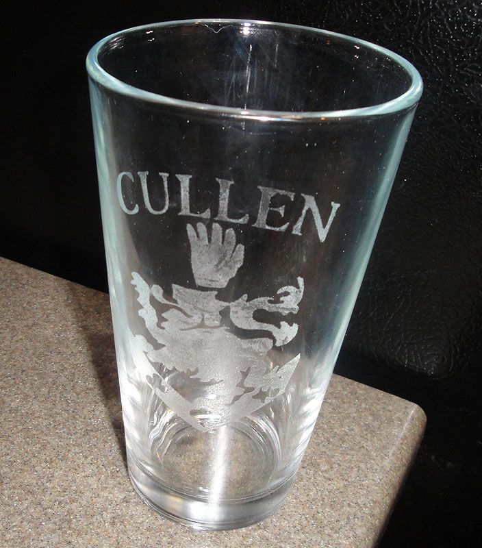 Cullen Cup For Twilight Drinking Game Drinking Games Glassware Beer Glasses