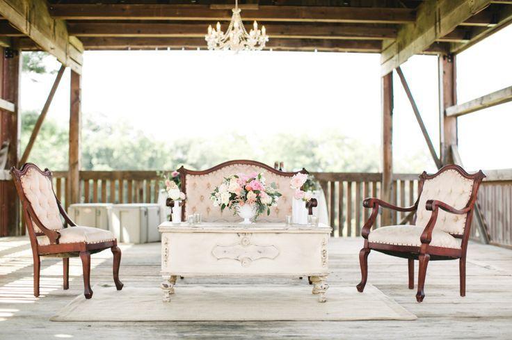 A Rustic Romantic Farm Wedding With Feminine Twist On Classic In - Classic interior design romantic twist