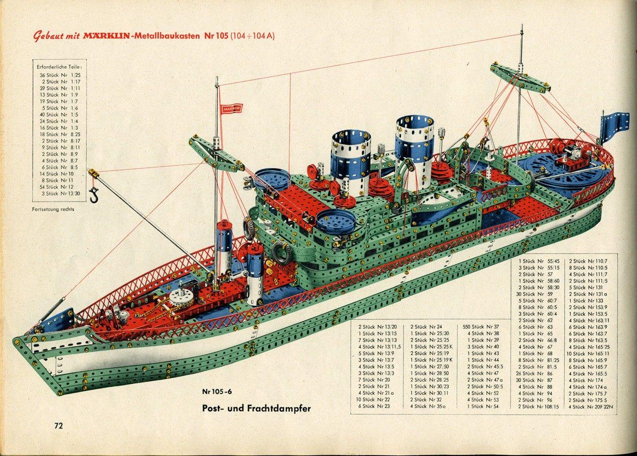 1954: Mein Beginn mit Märklin - Metallbaukasten: 100 Jahre ...