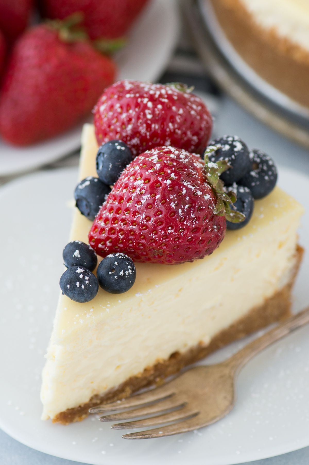 Plain Cheesecake Recipe Without Water Bath