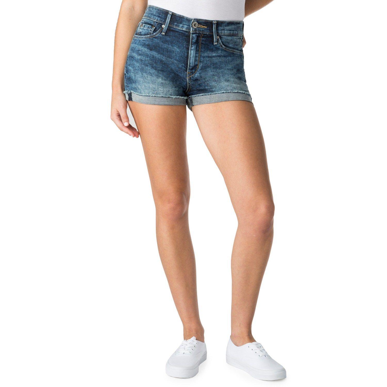 8d4fcb2306 Juniors' DENIZEN from Levi's Shortie Jean Shorts #Levi, #DENIZEN, #Juniors,  #Shorts