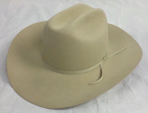 New Stetson 5X-XXXXX Beaver Felt Western Cowboy Hat S 7 1 2 Ranch Tan 4 dbbee2d8d9eb