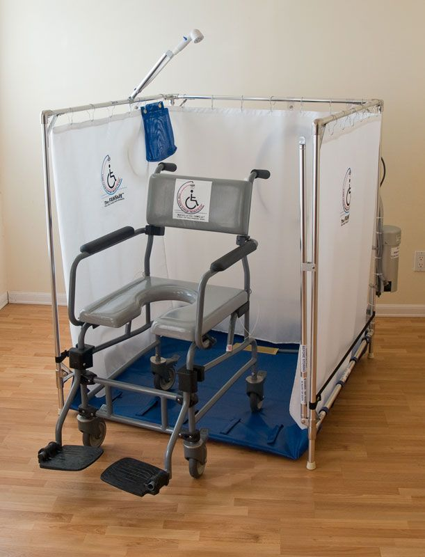 Portable Wheelchair Shower #ShowerStallsforDisabled >> See more at ...
