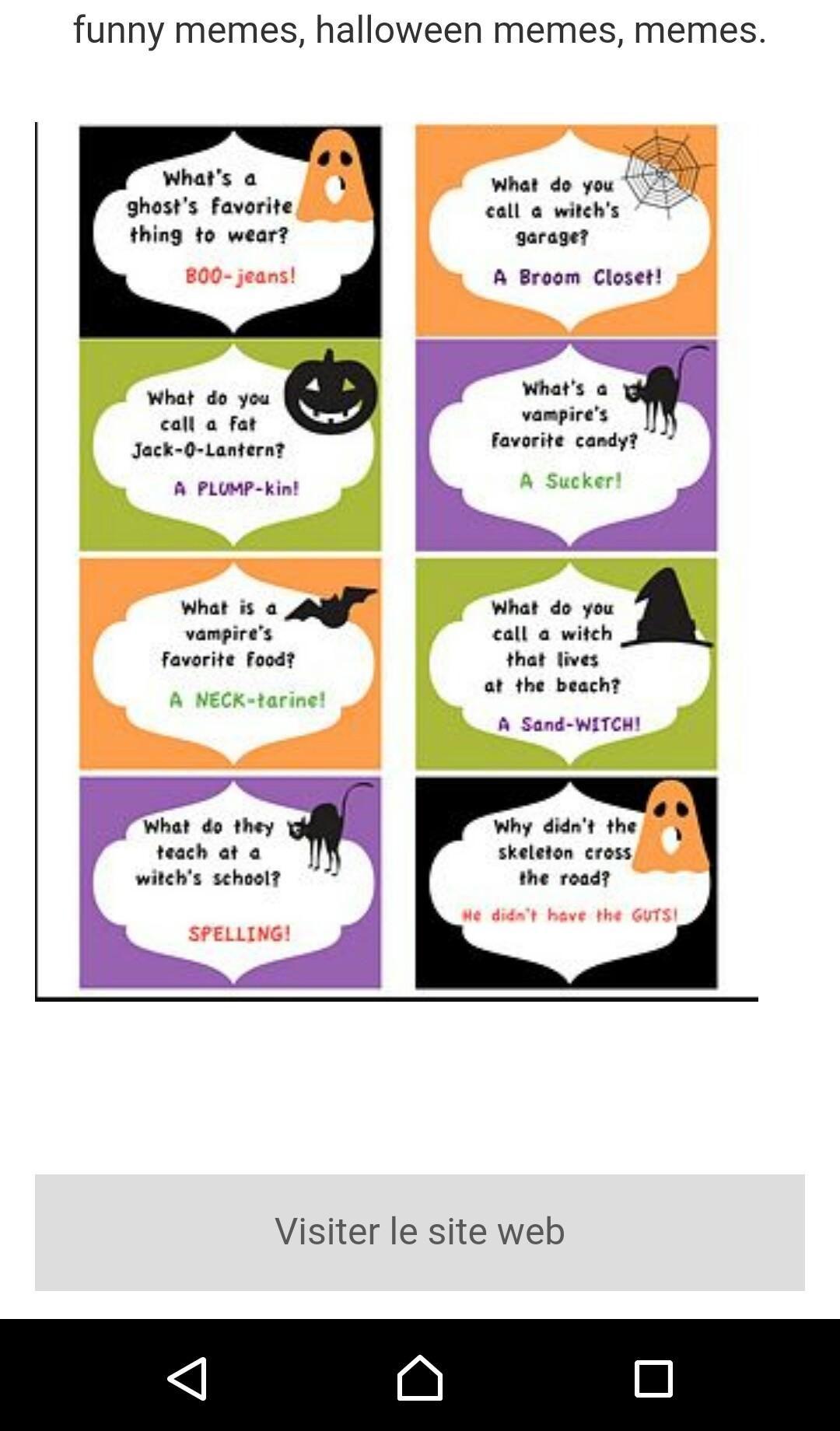 Funny Halloween Jokes Apps on Google Play Halloween