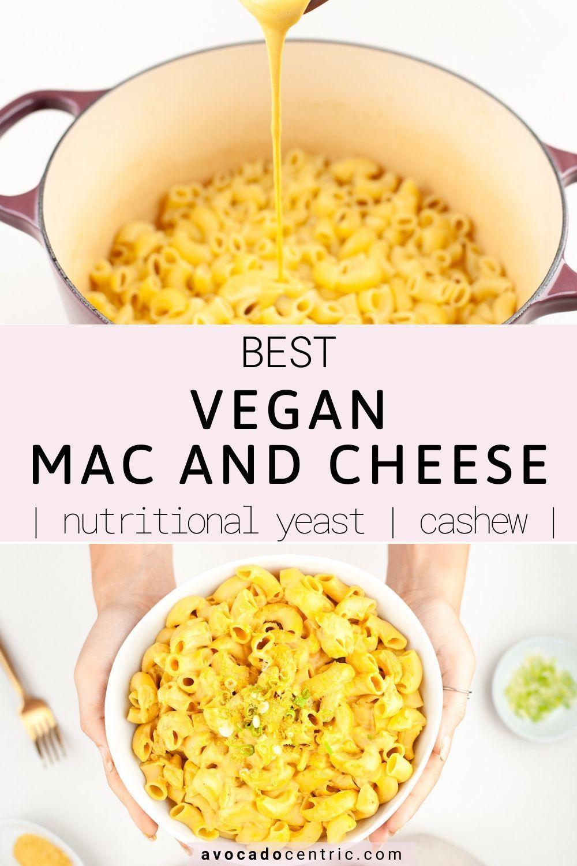 Vegan Mac And Cheese Recipe Easy Gluten Free Avocado Centric Recipe In 2020 Dairy Free Mac And Cheese Vegan Mac And Cheese Recipes
