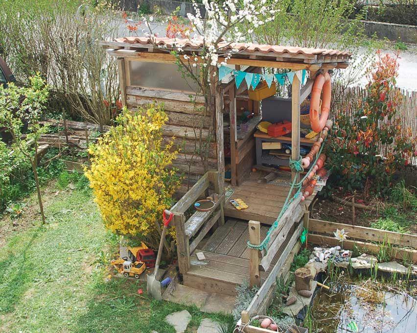 Un poulailler fait maison par Fameleon Factory | Cabanes de jardin ...