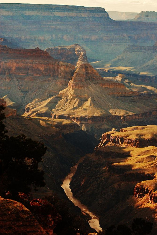 A river flows through the canyon by Shirin Kemp on 500px