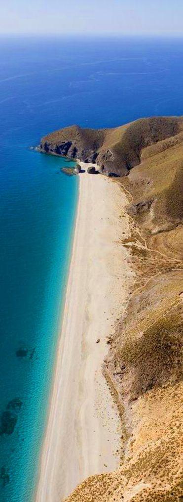Beach Of The Dead Almeria Spain
