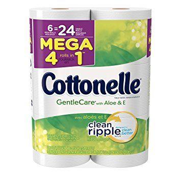 Image Result For Kleenex Cottonelle Gentle Care Mega Roll
