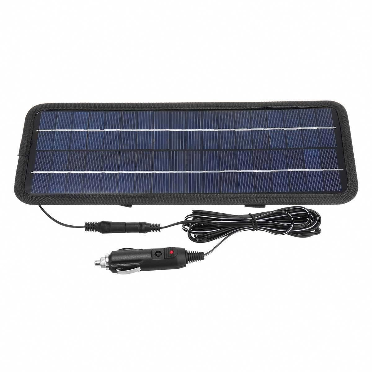 Sold 1042617588 Items 4 5w 12v Portable Boat Car Solar Panel Single Crystal Silicon Trickle Battery Charger U Car Battery Hacks Car Battery Jump A Car Battery