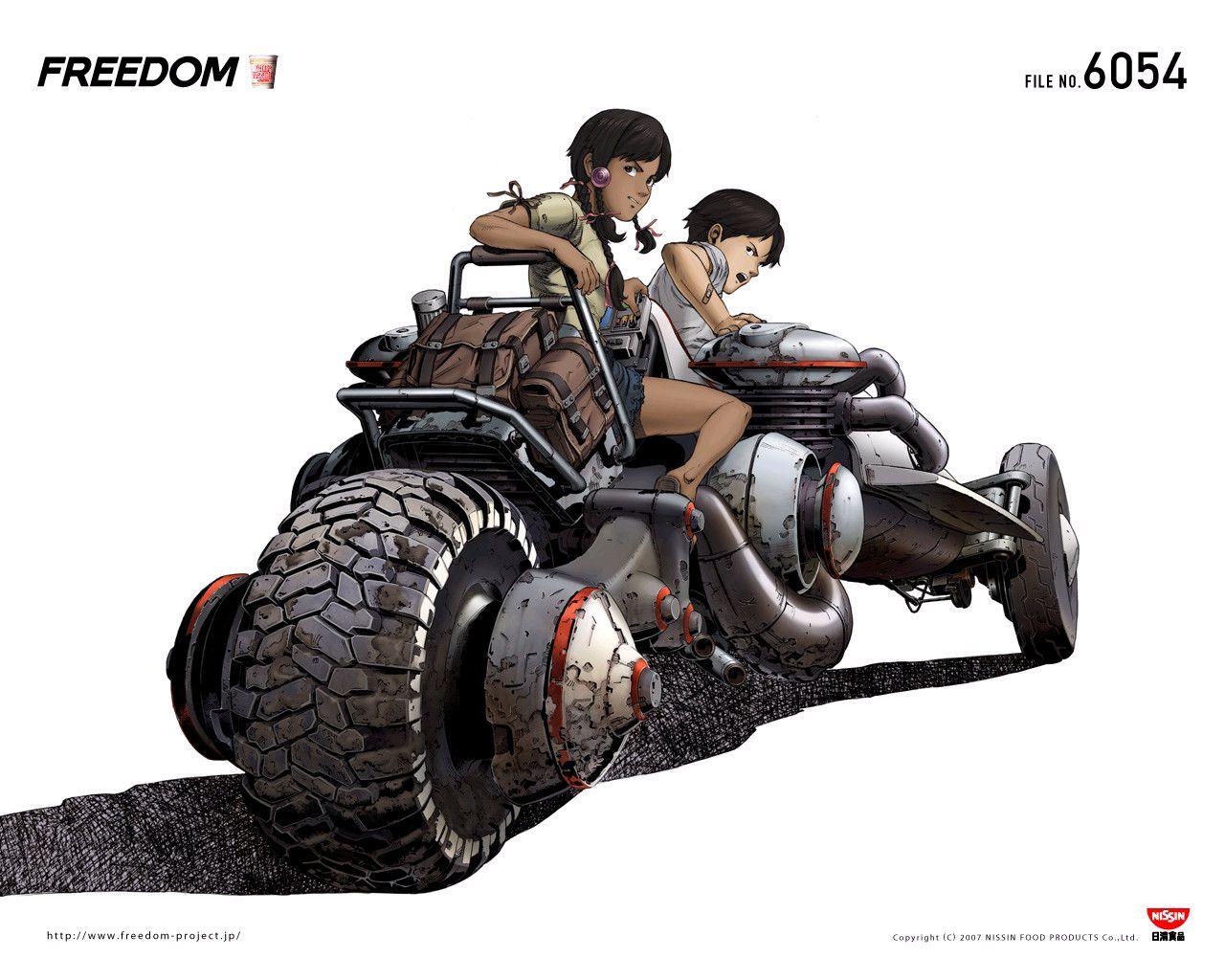 Freedom by Katsuhiro Otomo