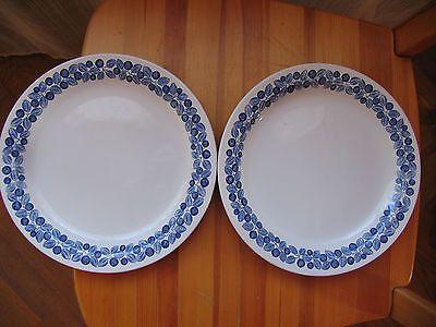 2 Rorstrand Blåbär (Blueberry) plates by Marianne Westman\u2013 very rare! & 2 Rorstrand Blåbär (Blueberry) plates by Marianne Westman\u2013 very ...