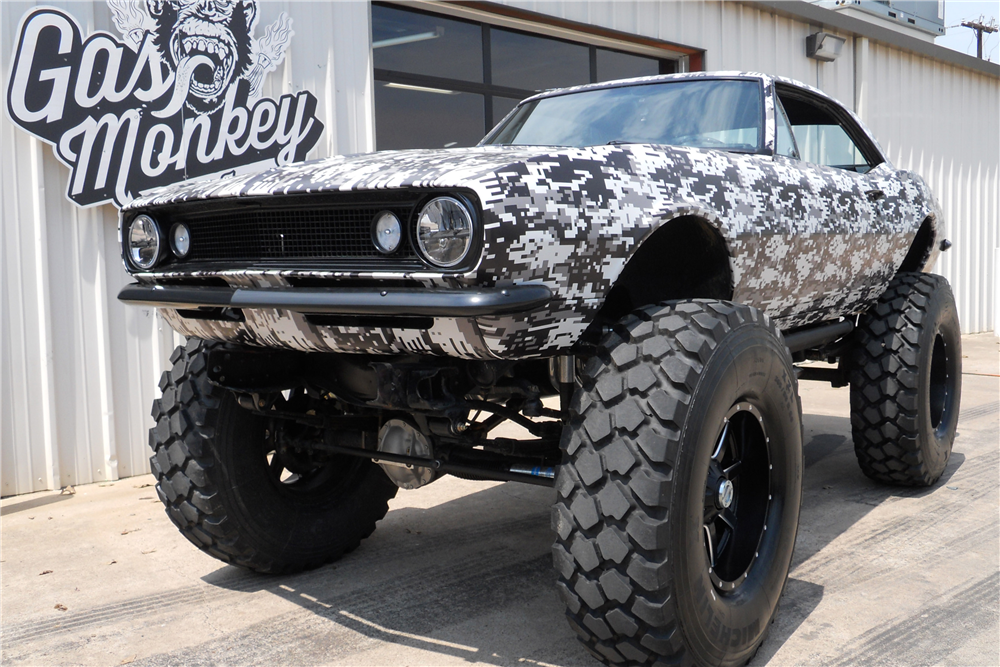 1967 CHEVROLET CAMARO CUSTOM 4X4 built by Gas Monkey Garage #gasmonkeygarage 1967 CHEVROLET CAMARO CUSTOM 4X4 built by Gas Monkey Garage #gasmonkeygarage