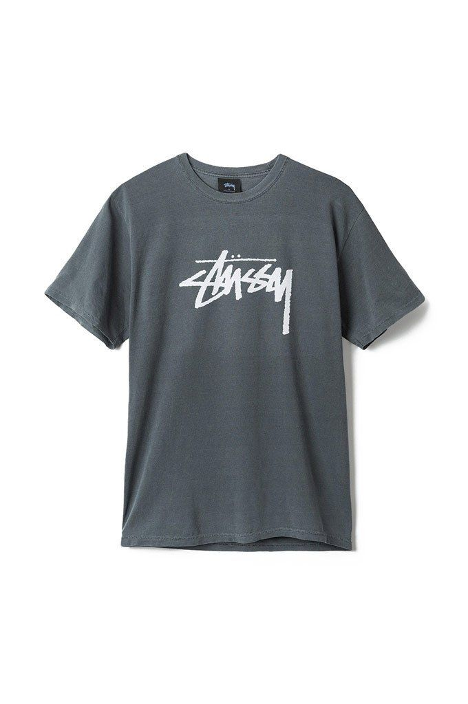 d17434065e0 The Stock Pigment Dyed Short Sleeve Tee from Stussy.