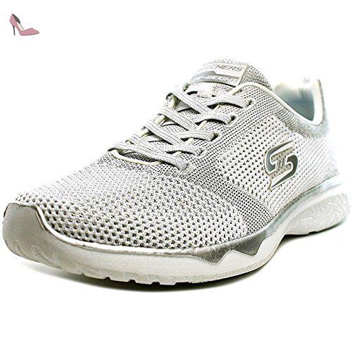 7ee685ed206ab Skechers Studio Burst - Virtual Reality Femmes US 8 Blanc Baskets - Chaussures  skechers (