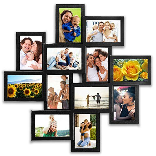 Jerry Maggie Photo Frame 24x24 Square Black Pvc Picture Frame Selfie Gallery Collage Wall Hanging Framed Photo Collage Wall Hanging Photo Frames Wall Collage