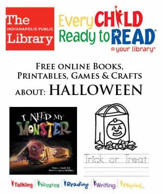 Free online books, printables, games & crafts about HALLOWEEN ...