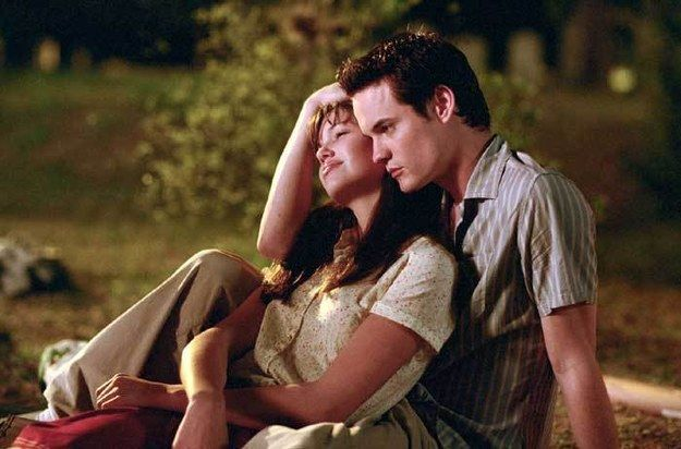 Jamie And Landon A Walk To Remember 2002 Romantic Movie