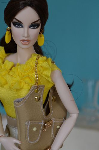 Yellow Collection Tess-Creations 2014 Fashion Royalty | Flickr