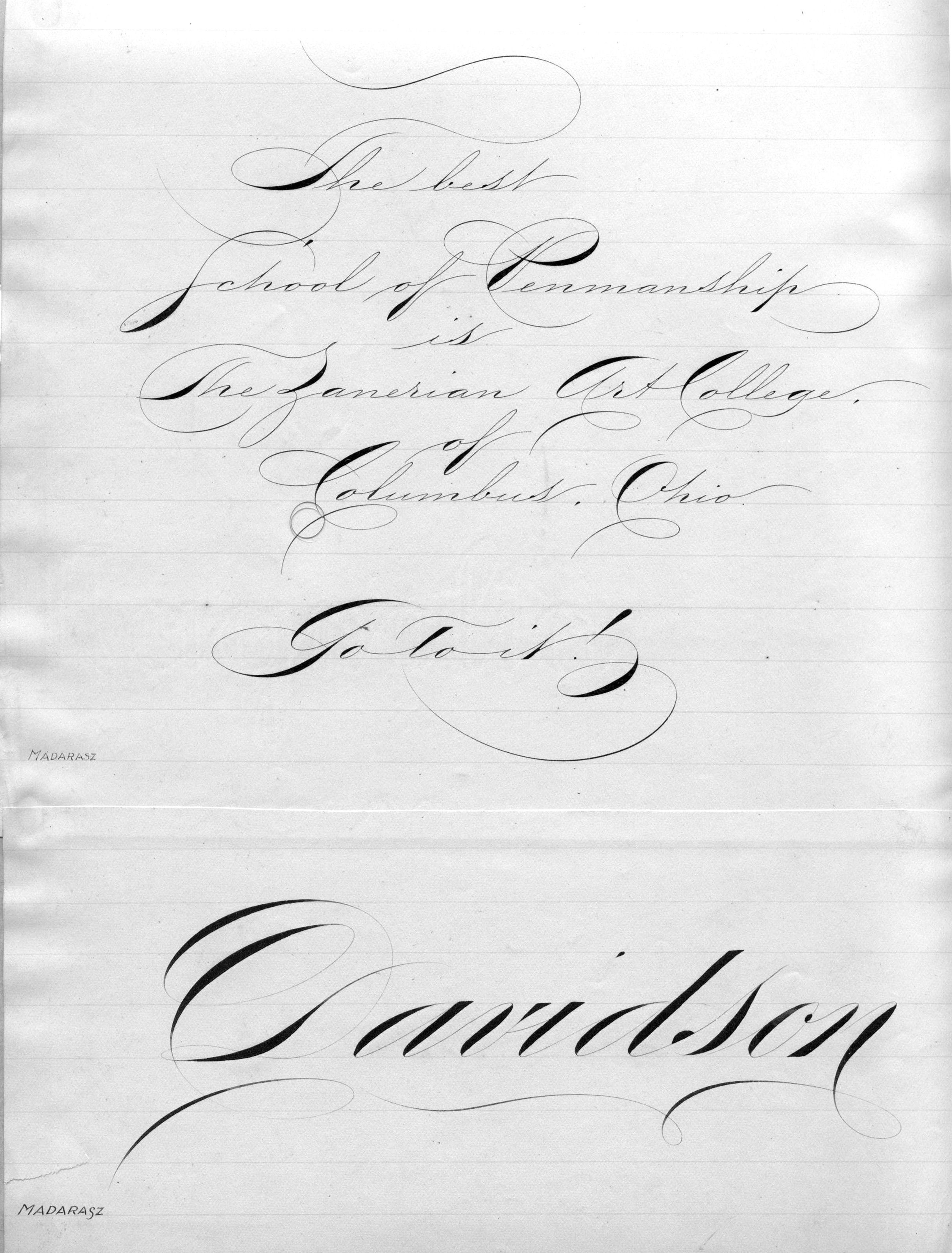 Calligraphy Tattoo Pinterest Louis Madarasz Penmanship Wow One Of The Best Ones I Have