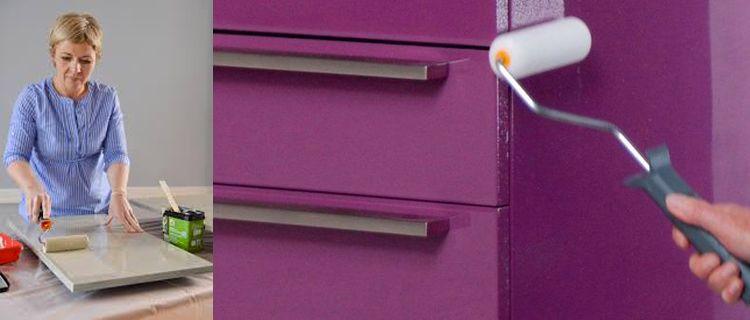 La peinture pour meuble stratifi ou m lamin comment peindre meuble de cuisine et de cuisine - Peinture meuble cuisine stratifie ...