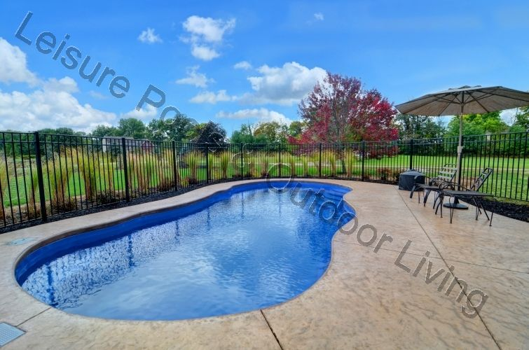 Rivera Pool riviera style fiberglass inground pool luxury pools and living