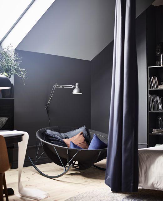 Ikea Dunkles Schlafzimmer: Dunkle Schlafzimmermöbel Können Modern Und Verspielt