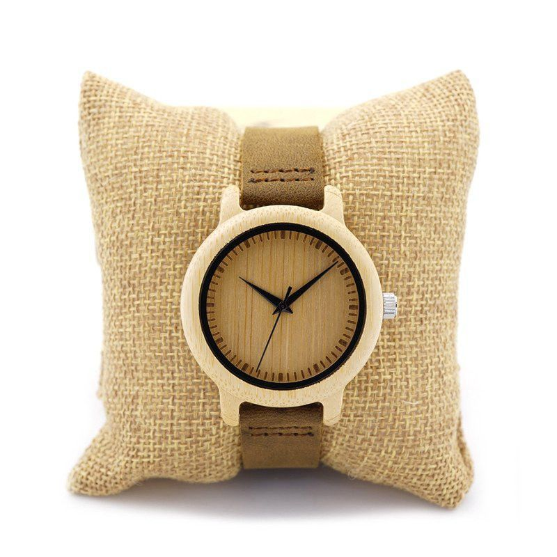 Unique Womens Bamboo Wooden Watch