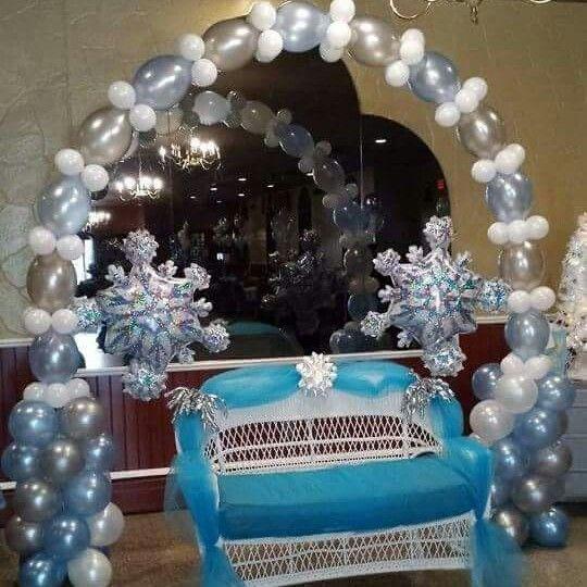 Babyshower · Umoja Events And Balloon Decorations | Phone 646 522 9869 ... Winter  Wonderland ...