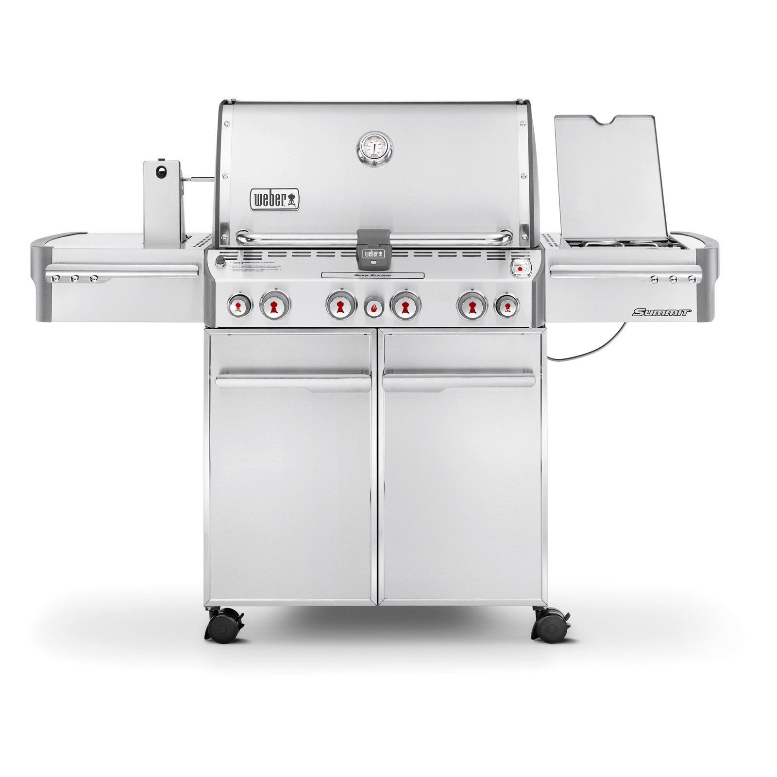 Weber Summit S 470 Stainless Steel Gas Grill Propane Grilling Propane Grill Gas Grill