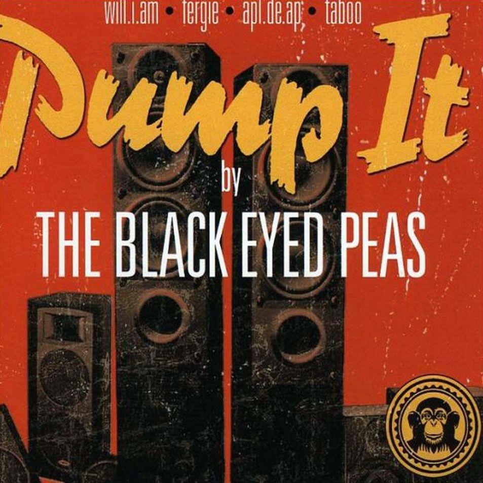 The Black Eyed Peas – Pump It (single cover art)