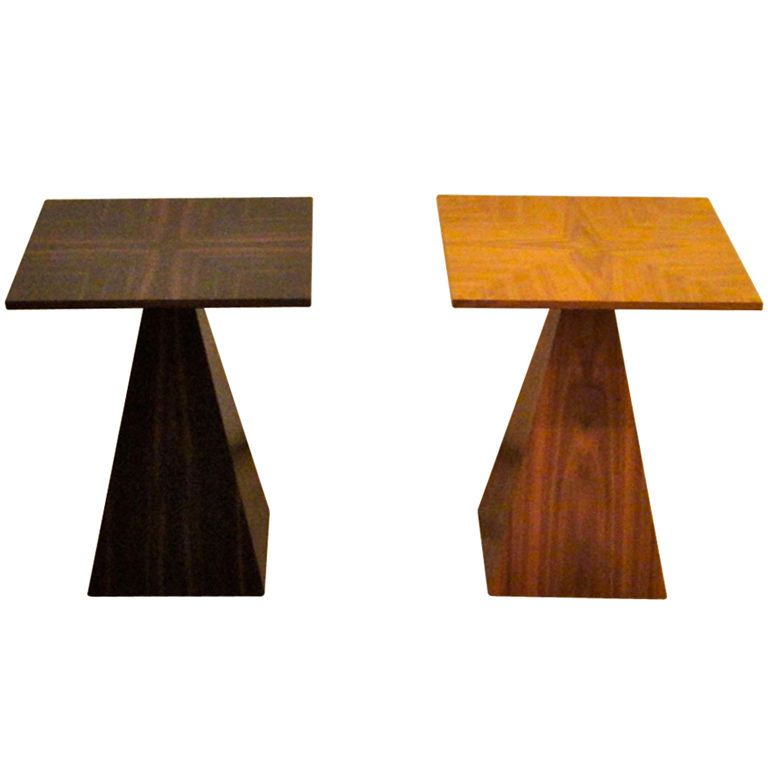 Side Tables by Harvey Probber American Circa 1950