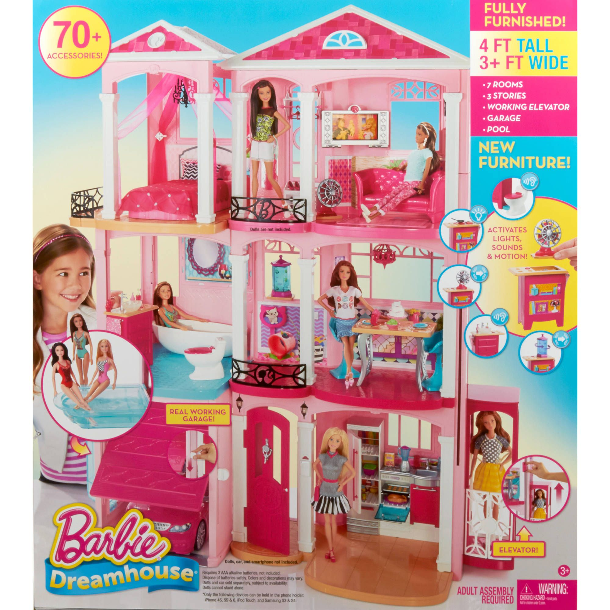Barbie Dreamhouse Walmart Com Barbie Accessories That I Might