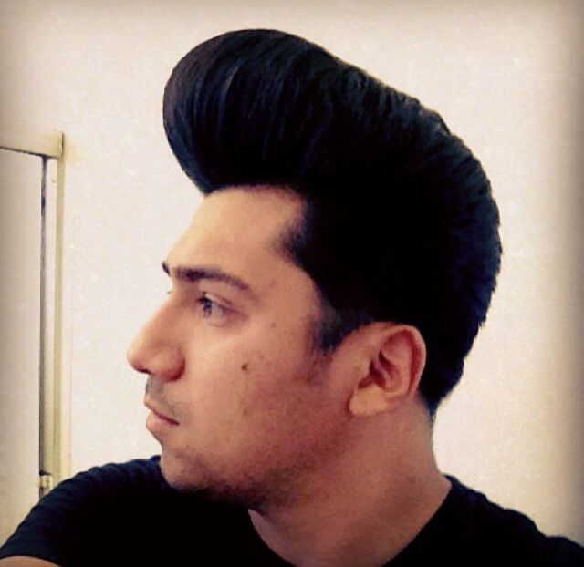 Pompadour Rockabilly Hairstyles And Colors That Rock Pinterest