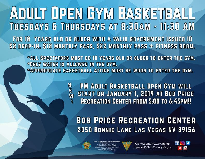 Did you know Bob Price Recreation Center offers dropin