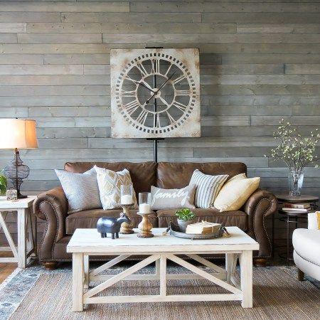 Design Styles Schneiderman S The Blog Design And Decorating Farm House Living Room Farmhouse Decor Living Room Brown Couch Living Room