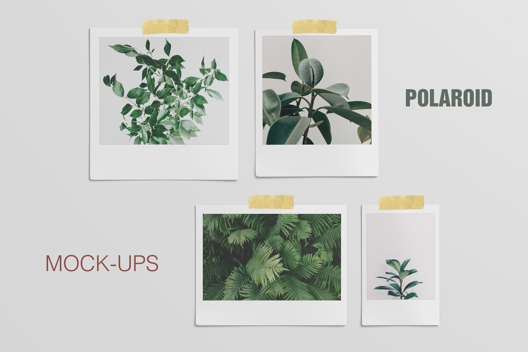 Download Polaroid Mockups Set Today We Have A Huge Range Of Mock Up Products Available Commercial Licens Design Mockup Free Psd Template Free Free Psd Design