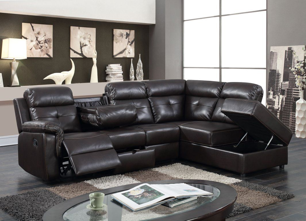 Thinking About Storage The Florence From Kwality K Living Collection Is A Sectional With Storage Ch Storage Chaise Reclining Sectional Living Room Collections