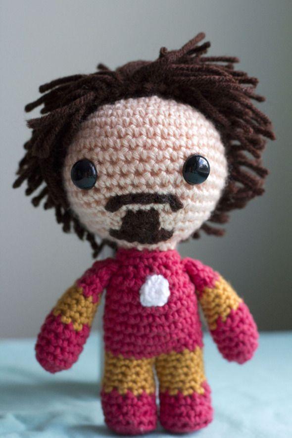 Tony Stark is Iron Man | Pinterest | Häkeln