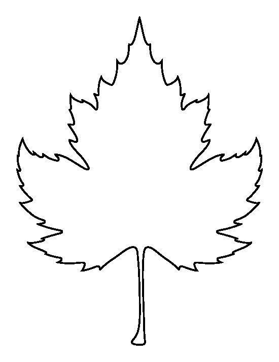 Leaf outline sycamore leaf pattern use the printable outline for leaf outline sycamore leaf pattern use the printable outline for crafts clipart pronofoot35fo Image collections