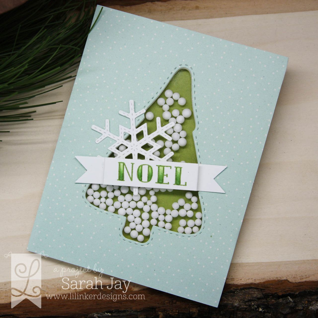 Dual Stitched Christmas Tree Dies Christmas Tree Card Tags And