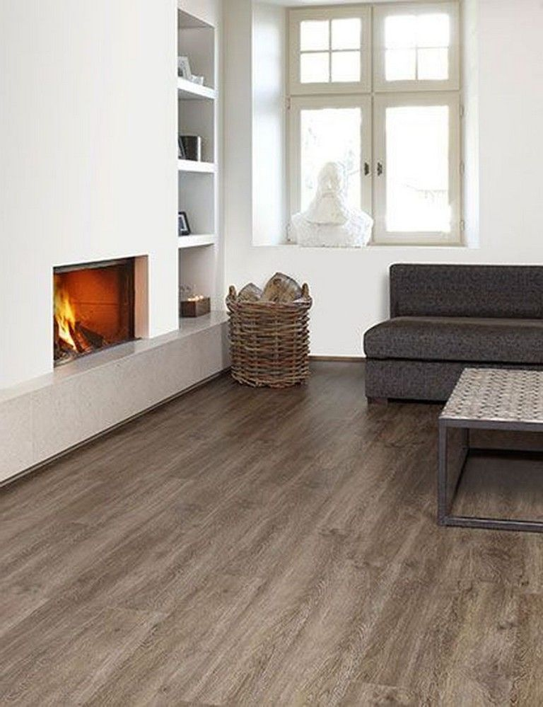 47 Simple Natural Wooden Vinyl Planks for Home Interior Flooring