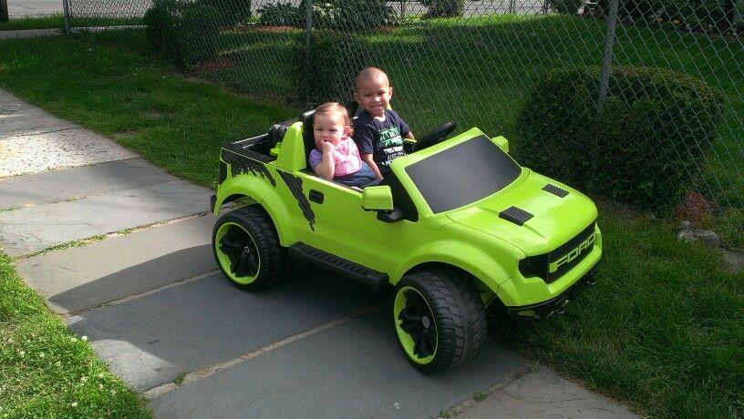 Ford Raptor Custom Power Wheels Kids Ride On Pedal Cars