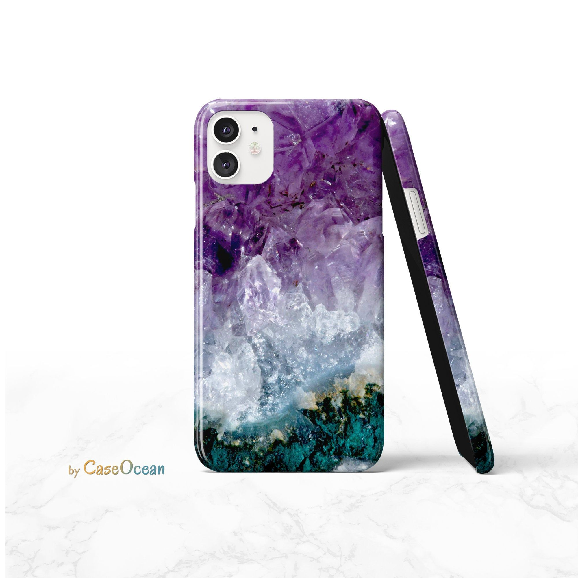 iPhone 11 Case Amethyst Pattern iPhone 11 Pro iPhone XR XS