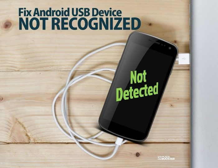 Fix Android USB device not recognized — How do I connect my