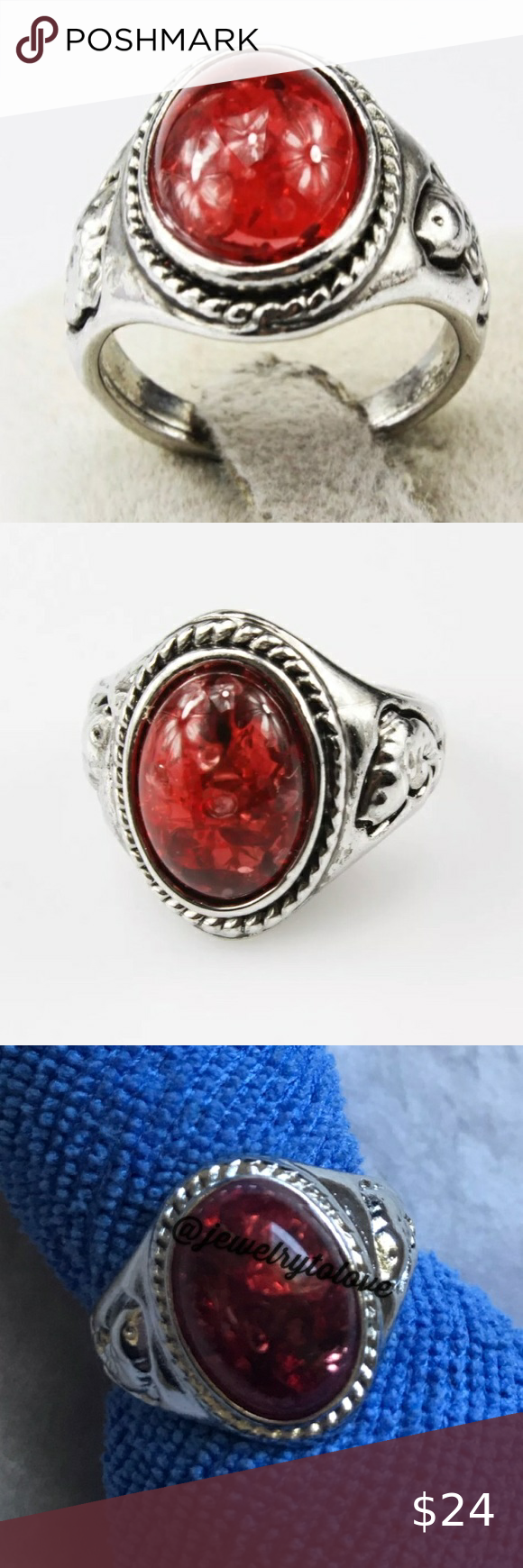 Check out this listing I just found on Poshmark: 😘 4/$25 Silver Tone Red Pieces Fish Ring. #shopmycloset #poshmark #shopping #style #pinitforlater #@inspiredaily #Jewelry