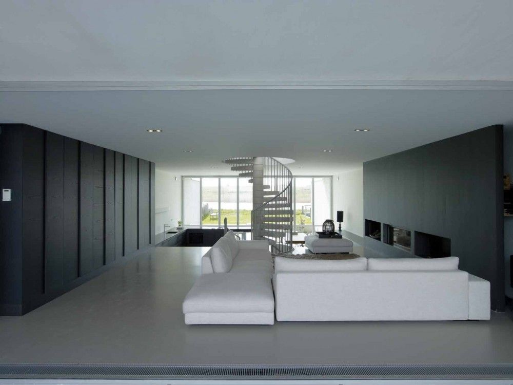 Interior aspect of a residential house on IJburg Amsterdam, The Netherlands by Casa W / VMX Architects