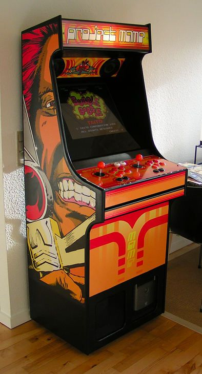 Project Mame Build Your Own Mame Cabinet See How Here With