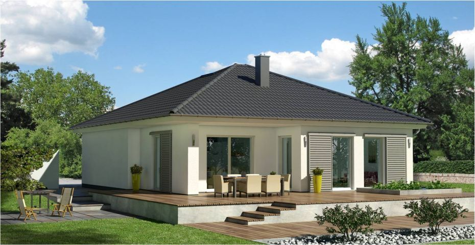 Bungalow K 95 Ytong Massivhaus bauen | Massivhaus bauen, Ytong und ...